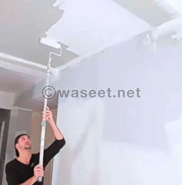 working of painting & wall paper