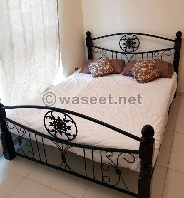 wrought iron bed  for sale